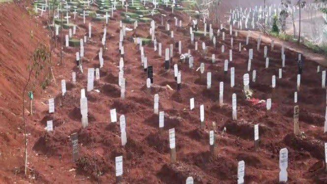 2 Hektare Lahan di Rorotan Disiapkan Buat Makam Pasien Corona