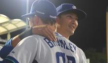 下半季封王差一步 悍將林哲瑄鼓勵隊友盡力就好 (圖)