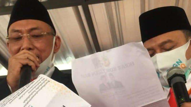 Cucu Syekh Arsyad Thawil Daftar Calon Wali Kota Cilegon