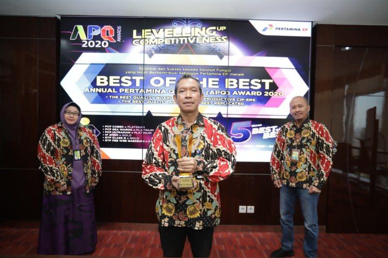 Pertamina EP raih penghargaan terbaik manajemen mutu