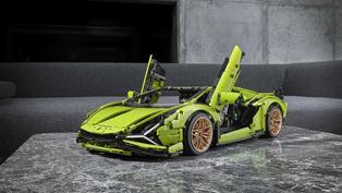 3,696片積木!Lego推出超精緻Lamborghini Sián FKP 37盒玩組