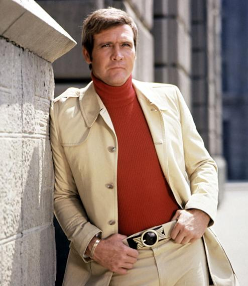 """The Six Million Dollar Man"" Col. Steve Austin (Lee Majors)"