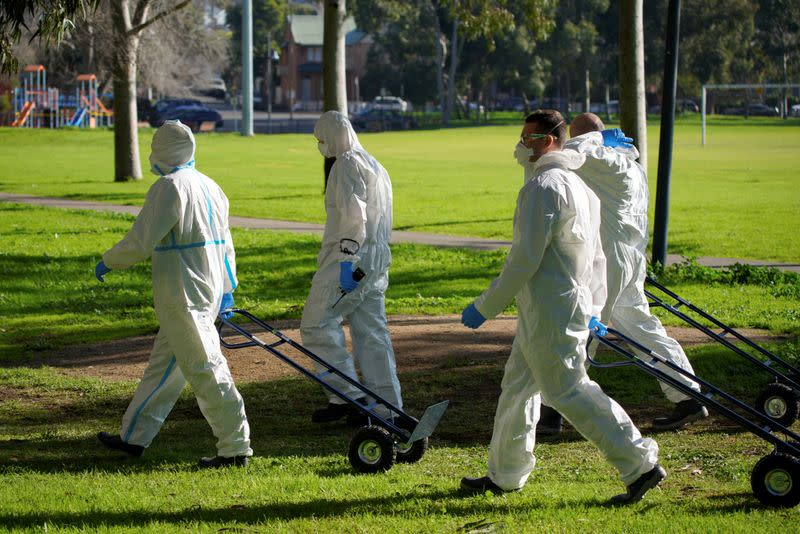Australia's coronavirus hot spot state to deepen contact tracing