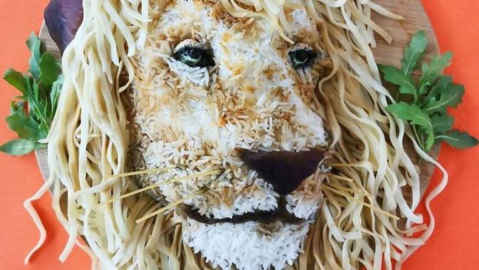 Food Art kreasi Jolanda Stokkermans.