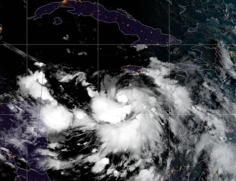 Hurricane Delta rapidly intensifies, targets Mexico, U.S. Gulf Coast