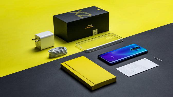 Salah satu smartphone Poco, X2 (sumber: Poco India)