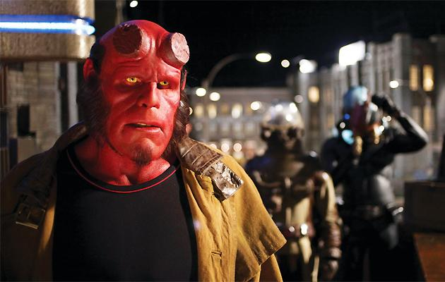 Del Toro, Perlman trying to do Hellboy 3