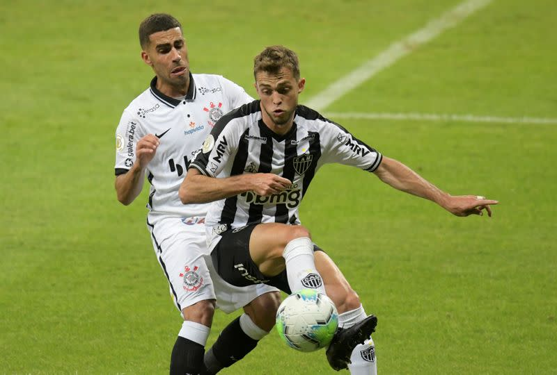 Corinthians lose two-goal lead as Atletico win again