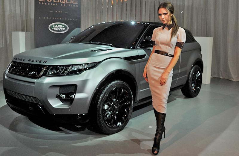 Victoria Beckham's signature Range Rover Evoque will become one with you for $129,000