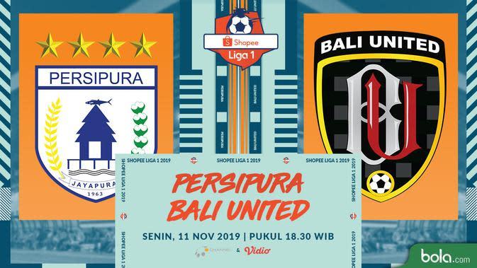 Persipura Jayapura Tahan Imbang Bali United 2-2
