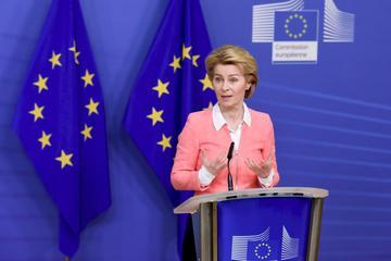 歐盟執委會主席范德賴恩(Ursula von der Leyen)。(圖:EU)
