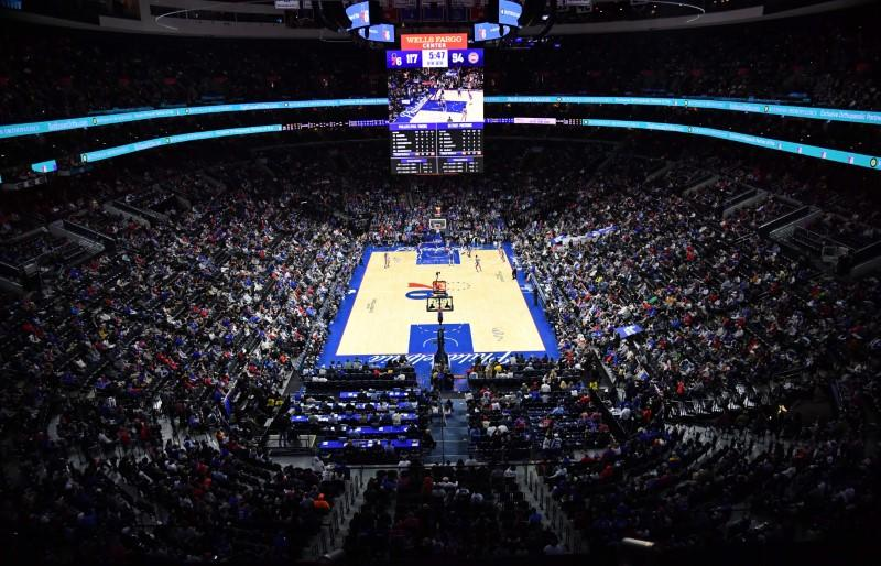 Three members of 76ers' organization test positive for virus