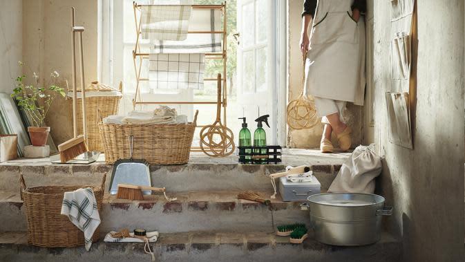 IKEA kenalkan cara ramah lingkungan untuk bersih-bersih rumah. (dok. IKEA)