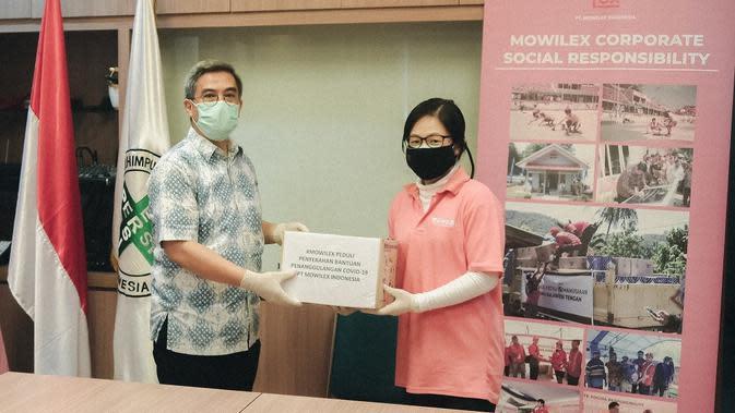 Lawan Covid-19, Mowilex Sumbangkan 26 Ribu Masker dan APD Berstandar Medis