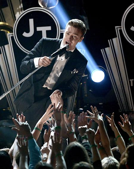 The 55th Annual GRAMMY Awards - Show: Justin Timberlake