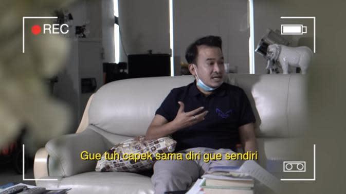 Dalam perbincangan dengan Eko Patrio dalam tayangan kanal SIKOPAT CHANNEL, Ruben mengaku pernah beberapa kali ingin mengakhiri hidupnya. (Youtube/ SIKOPAT CHANNEL)