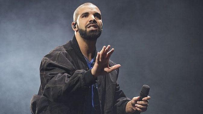 lagu In My Feeling yang dinyanyikan Drake sangat populer sebagai KeKe Challange atau Kiki Challange. (Arthur Mola/Invision/AP)
