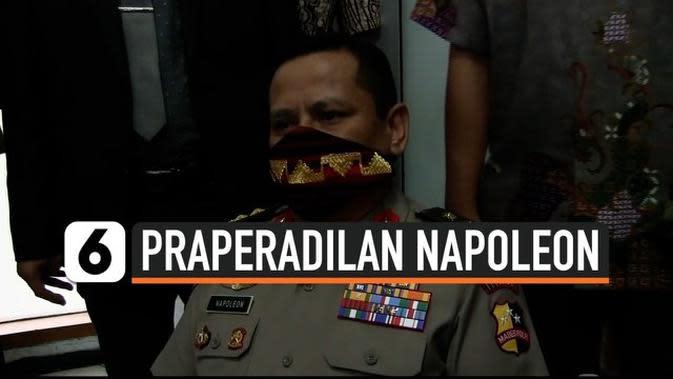 VIDEO: Sidang Perdana Praperadilan Penetapan Irjen Napoleon Jadi Tersangka