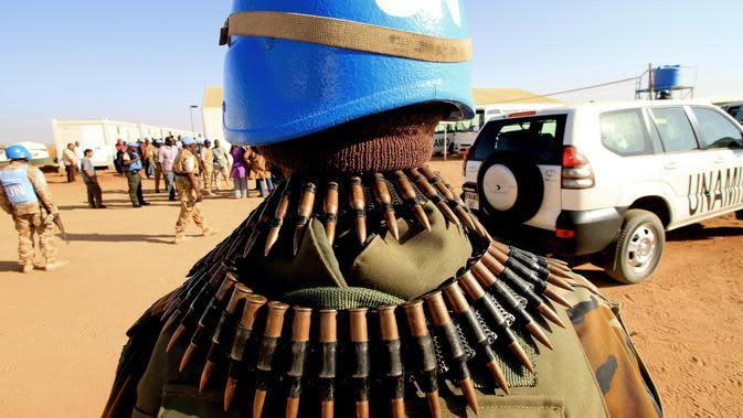 Pasukan perdamaian PBB di Mali (AFP Photo)