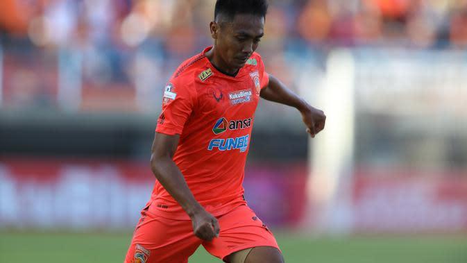 Pemain Borneo FC, Dedi Hartono. (Permana Kusumadijaya/Bola.com)