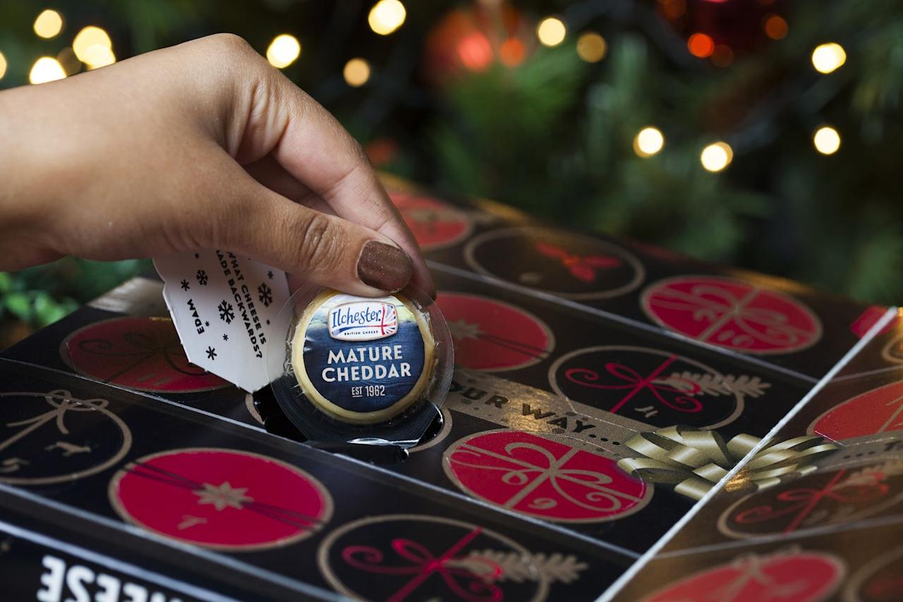 "<p>Blogger So Wrong Its Nom, who first posted a cheese advent calendar tutorial  <a href=""http://sowrongitsnom.com/how-to-make-a-cheese-advent-calendar/"" target=""_blank"">in 2015</a>, says hers was the <em>first </em>of its kind. She has a tutorial up on her website, and in 2017, she partnered with U.K. grocery store ASDA to bring a buyable box to fruition. </p><p>Target now carries the calendar—and we'll be sure to update you when it begins selling (probably in November, if years past have been any indication). Last year, you could also find it at Supervalu, Sprouts, Schnucks, Meijer, Jewel, Lidl, and Publix, so keep your eyes peeled.</p><p><i></i><a class=""body-btn-link"" href=""https://sowrongitsnom.com/how-to-make-a-cheese-advent-calendar/"" target=""_blank"">GET THE TUTORIAL HERE</a></p>"