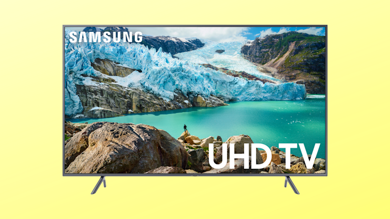 Save $302 on this Samsung 65-inch 4K UHD TV. (Photo: Amazon/Yahoo Lifestyle)