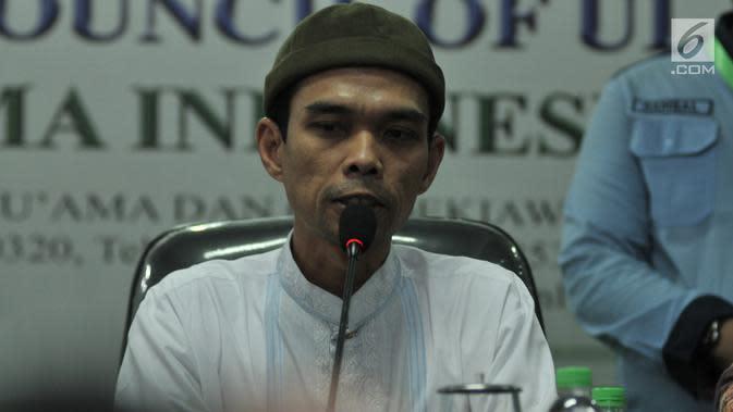 Ustaz Abdul Somad (merdeka.com/Iqbal S. Nugroho)