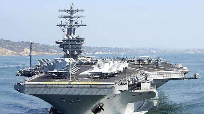 VIVA Militer: Kapal Induk Amerika Serikat, USS Nimitz