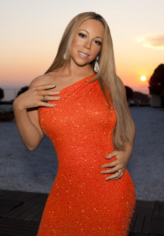 Mariah Carey's awkward 'Idol' promo pose