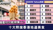 十大熱搜香港地道美食2020!雞蛋仔都只能排第二?冠軍係…
