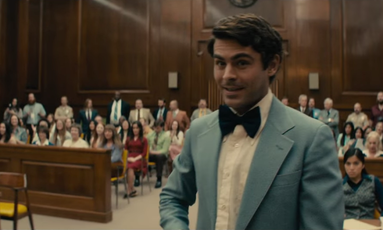 Extremely Wicked Shockingly Evil And Vile Teaser Zac Efron Casts A Spell Over Lily Collins