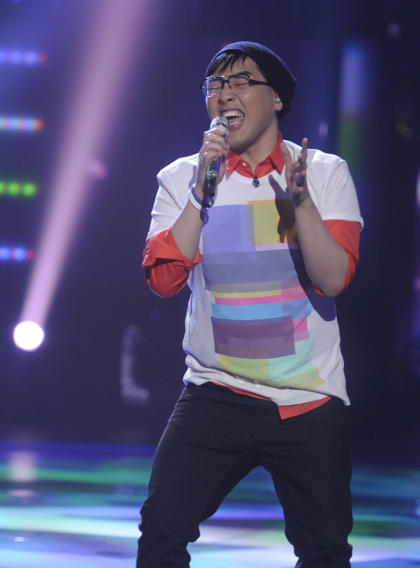 "Heejun Han performs ""My Life"" by BIlly Joel on ""American Idol."""