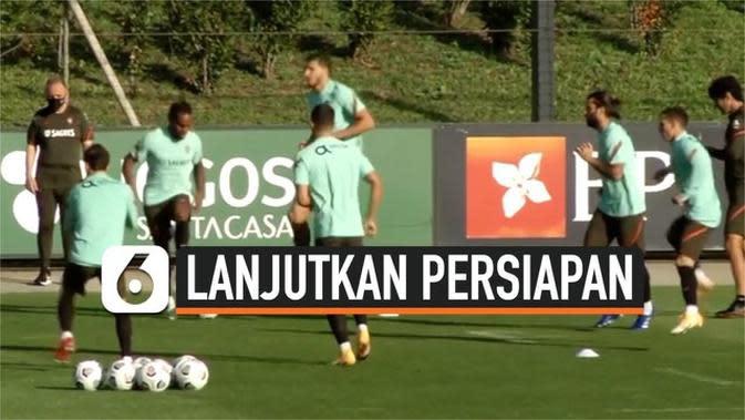 VIDEO: Tanpa Cristiano Ronaldo, Portugal Tetap Lanjutkan Persiapan Lawan Swedia