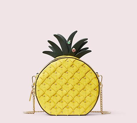 Picnic Pineapple Crossbody. Image via Kate Spade.