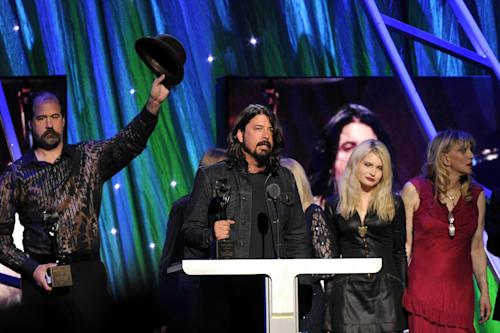 Nirvana Steals the Show at Rock and Roll Hall of Fame Celebration