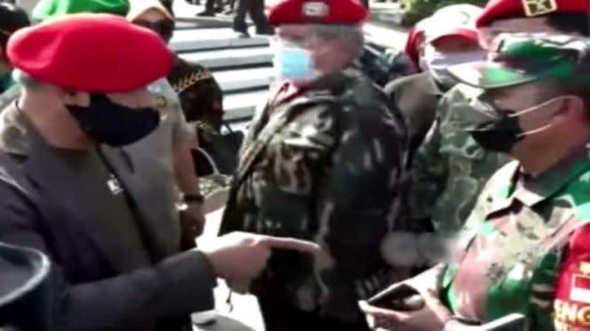 Ditunjuk-tunjuk Jenderal Gatot, Kolonel TNI Ucu Tetap Tenang dan Sopan