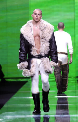 Wow, Channing! Those Are Quite the Catwalk Pics