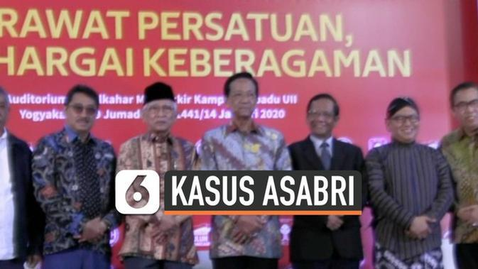 VIDEO: Mahfud MD Pastikan Dugaan Korupsi Asabri