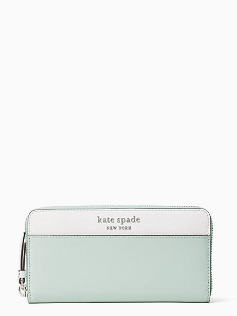 Cameron Large Continental Wallet (Photo via Kate Spade)
