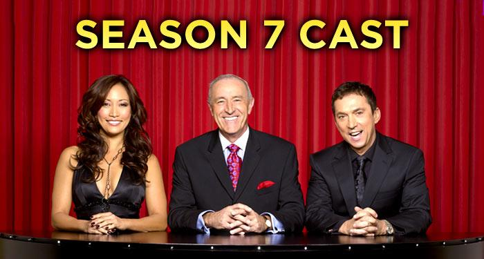 "It will be a season of surprises in what promises to be the biggest and most demanding season ever, as 13 celebrities take the ballroom floor on <a href=""/baselineshow/4730333"">""Dancing with the Stars.""</a> Season 7 marks the largest cast assembled to date, the oldest and youngest competitors ever, and includes two Olympic Gold medalists, a Grammy-winning singer, a television legend, an Oscar winner and a Super Bowl champion. Click through this slideshow to meet the 13 celebrities who will be competing in the seventh season of ""Dancing with the Stars."""