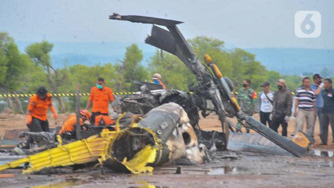 Korban Meninggal Helikopter TNI AD Jatuh di Kendal Bertambah 1 Orang