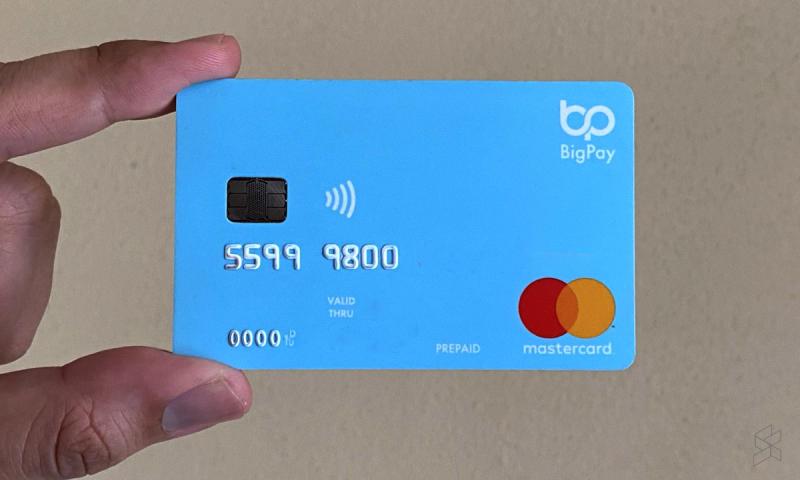 AirAsia's prepaid card, BigPay. — Picture via SoyaCincau