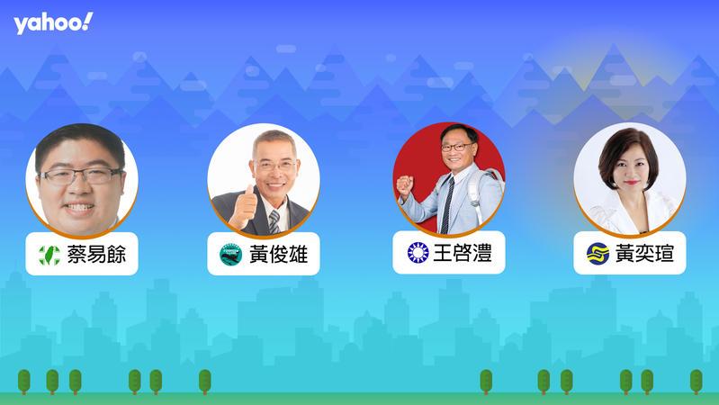 2020立委選舉嘉義縣第一選區,你支持誰?
