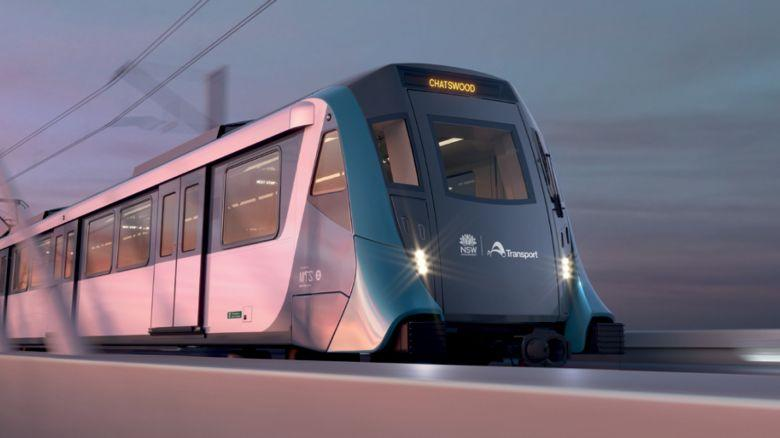 A picture of a driverless train on Sydney's new Northwest Metro line, to be unveiled on Sunday May 26 2019.