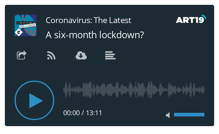Coronavirus podcast - A six-month lockdown?
