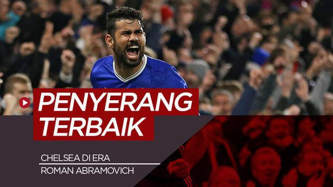 MOTION GRAFIS: 5 Penyerang Terbaik Chelsea Era Roman Abramovich, Diego Costa Salah Satunya
