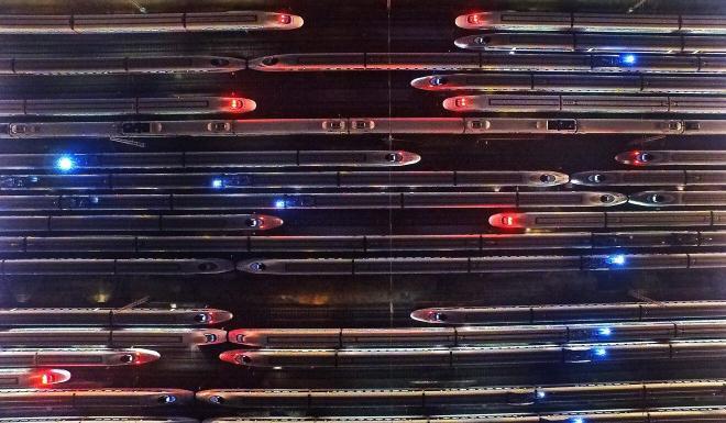 China already has an extensive network of high-speed passenger trains. Photo: Xinhua