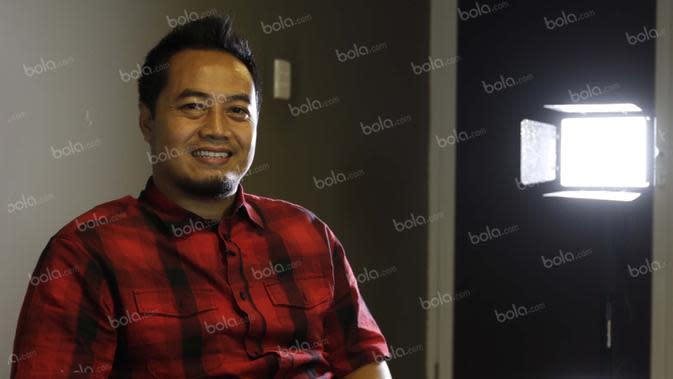 Gendut Doni Christiawan. (Bola.com/Arief Bagus)