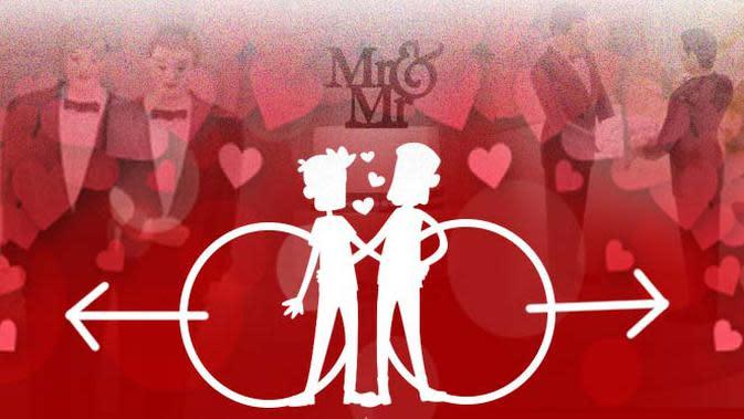 Ilustrasi Gay (Liputan6.com/Abdillah)