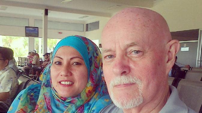 Terrence Carr bersama istrinya (https://www.instagram.com/p/ BMykw-wB69e/)
